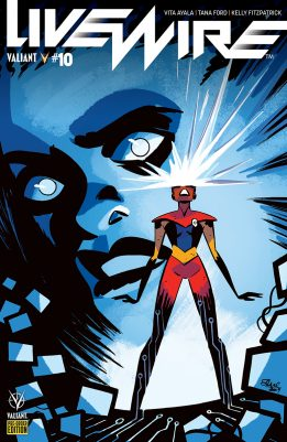 Comic Book Pulls from September 11, 2019 LIVEWIRE #10 COVER D PRE-ORDER EDITION