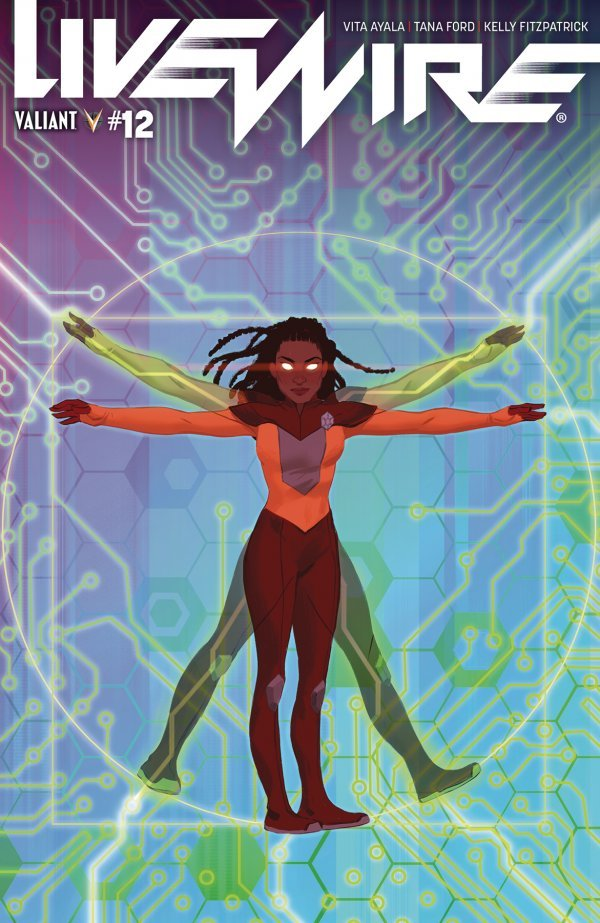 Comic Pulls from November 6, 2019 LIVEWIRE #12 COVER B CHEN