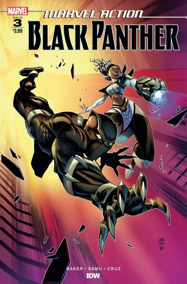 Comic Pulls from October 2, 2019 MARVEL ACTION BLACK PANTHER #3