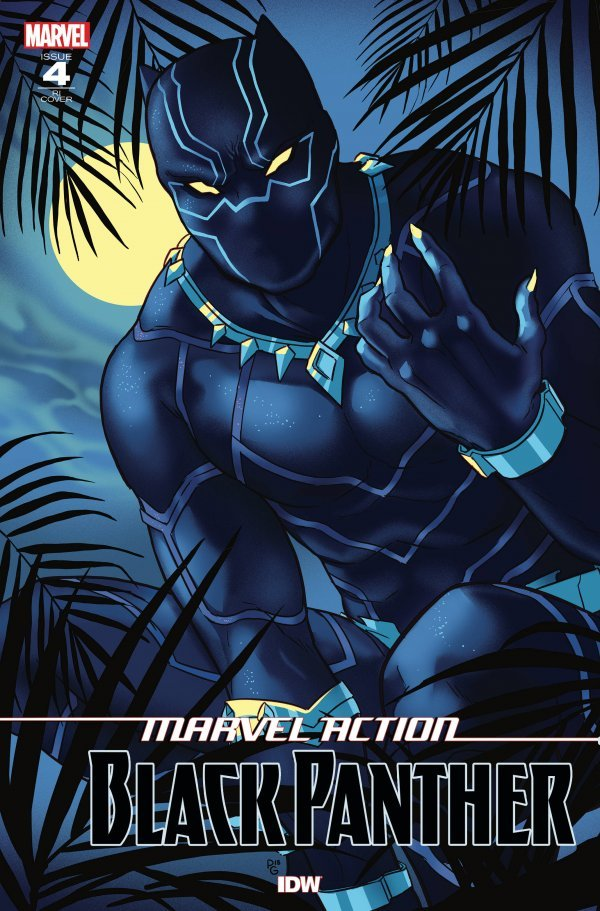 Comic Pulls from October 16, 2019 MARVEL ACTION BLACK PANTHER #4 1 in 10 INCENTIVE VARIANT