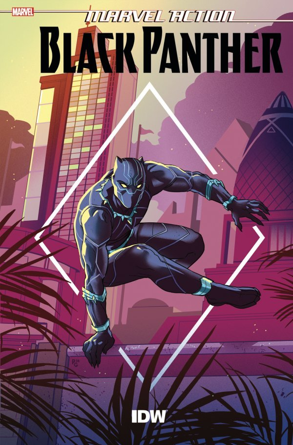 Comic Pulls from October 16, 2019 MARVEL ACTION BLACK PANTHER #4