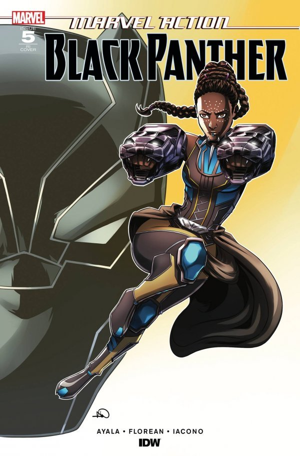 Comic Pulls from November 6, 2019 MARVEL ACTION BLACK PANTHER #5 1 in 10 INCENTIVE VARIANT