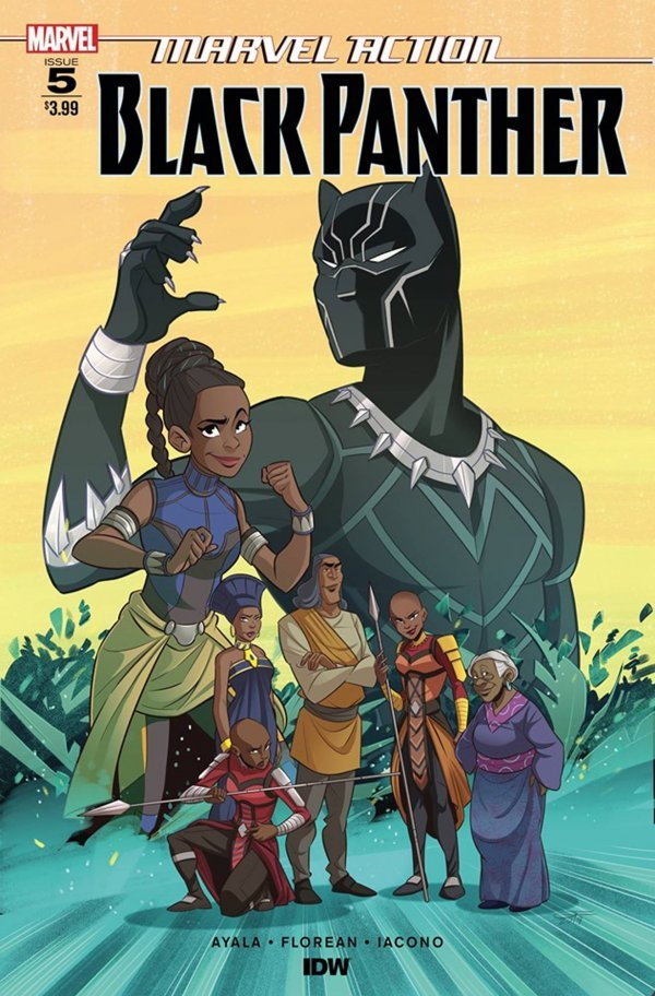 Comic Pulls from November 6, 2019 MARVEL ACTION BLACK PANTHER #5