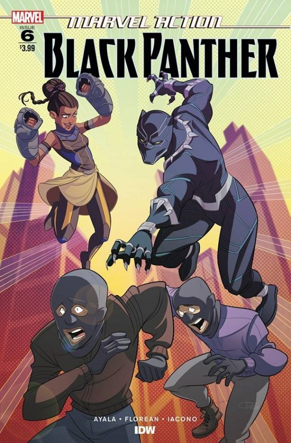 Comic Pulls from November 20, 2019 MARVEL ACTION BLACK PANTHER #6
