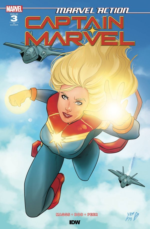 Comic Pulls from November 6, 2019 MARVEL ACTION CAPTAIN MARVEL #3 1 in 10 INCENTIVE