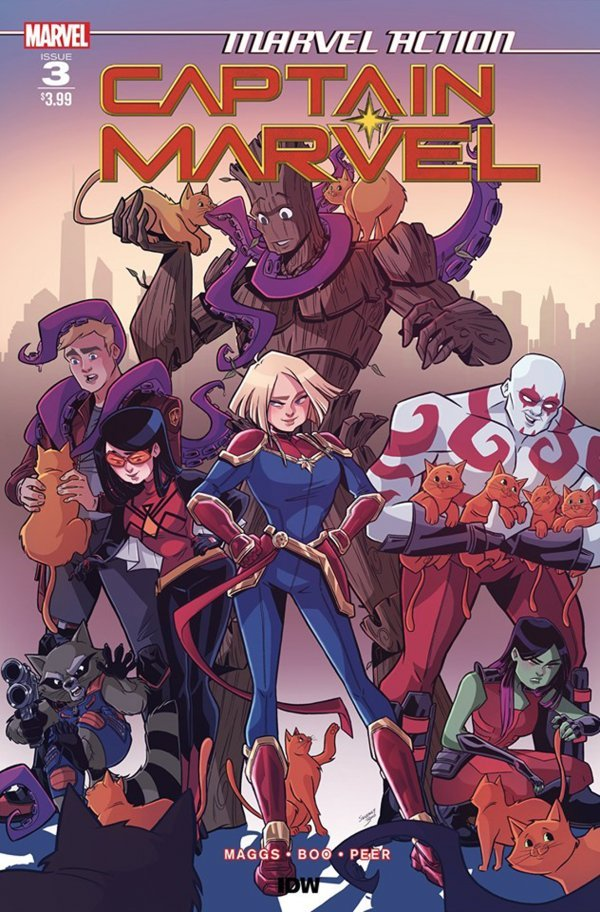 Comic Pulls from November 6, 2019 MARVEL ACTION CAPTAIN MARVEL #3