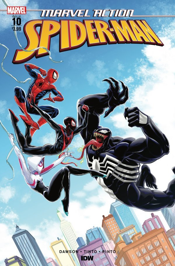 Comic Pulls from October 23, 2019 MARVEL ACTION SPIDER-MAN #10