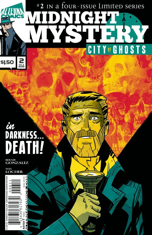 Comic Book Pulls from September 11, 2019 MIDNIGHT MYSTERY #2