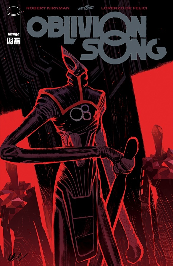 Comic Book Pulls from September 11, 2019 OBLIVION SONG #19