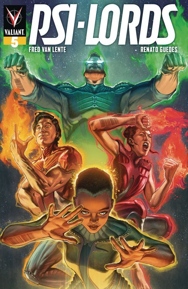 Comic Pulls from October 16, 2019 PSI-LORDS #5 COVER B BARRIONUEVO