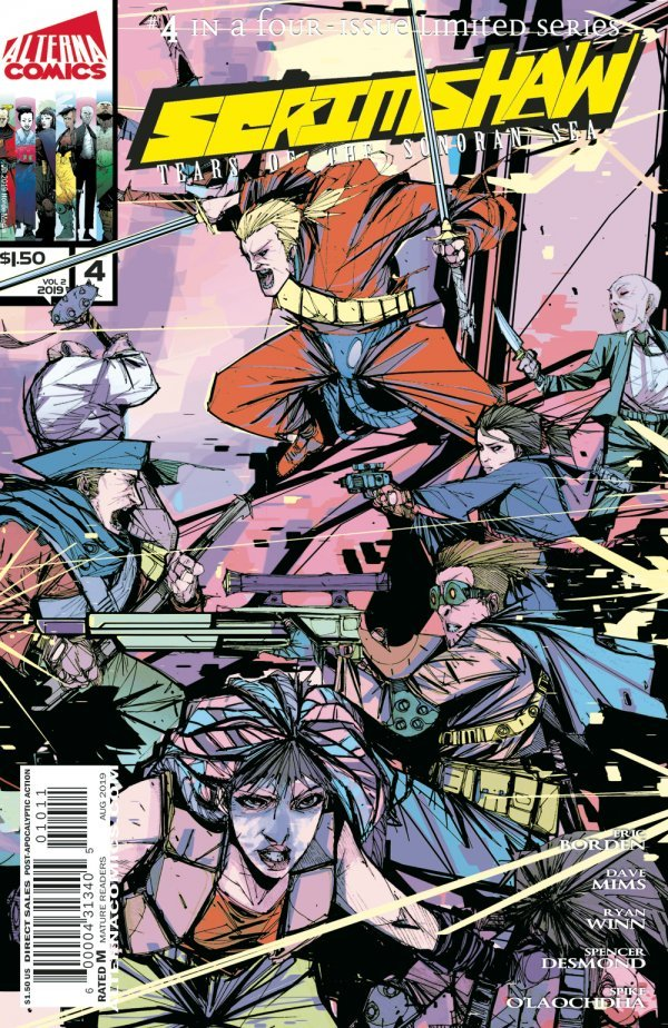 Comic Pulls from September 25, 2019 SCRIMSHAW #4