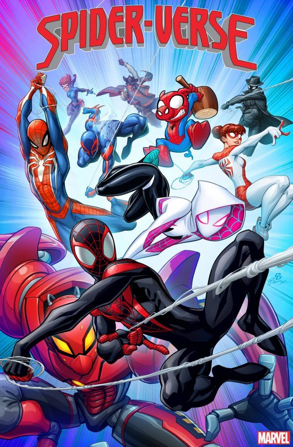 Comic Pulls from October 2, 2019 SPIDER-VERSE #1 1 in 25 PATRICK BROWN VARIANT