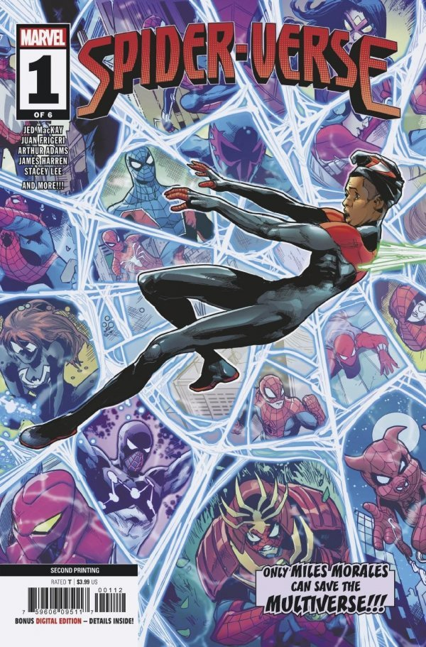 Comic Pulls from October 2, 2019 SPIDER-VERSE #1 JUAN FRIGERI 2ND PRINTING COVER