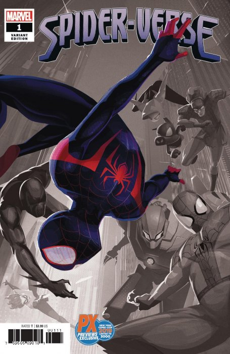 Comic Pulls from October 2, 2019 SPIDER-VERSE #1 NYCC 2019 EXCLUSIVE WENDELL DALIT VARIANT