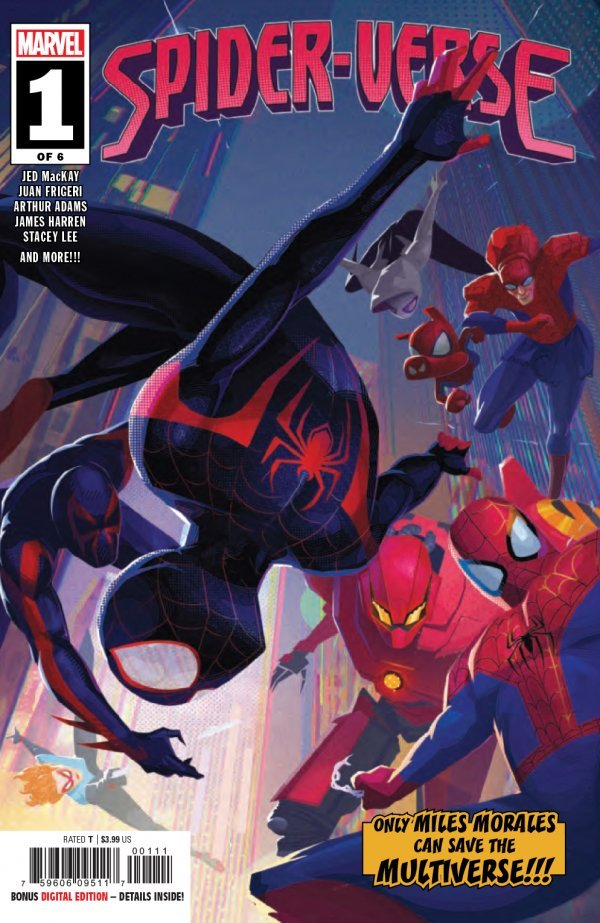 Comic Pulls from October 2, 2019 SPIDER-VERSE #1