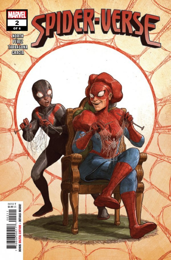 Comic Pulls from November 20, 2019 SPIDER-VERSE #2