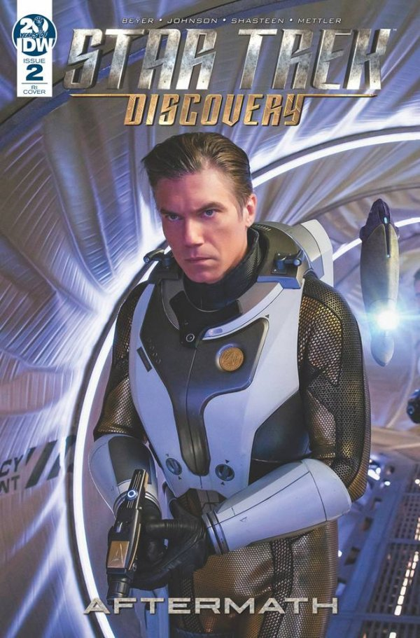 Comic Pulls from September 25, 2019 STAR TREK DISCOVERY – AFTERMATH #2 1 in 10 COVER PHOTO