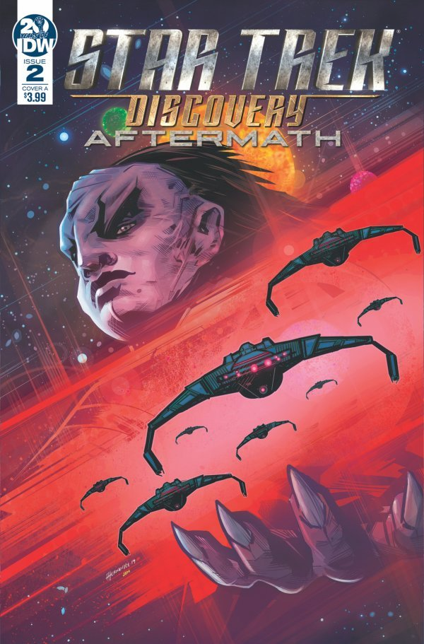 Comic Pulls from September 25, 2019 STAR TREK DISCOVERY – AFTERMATH #2