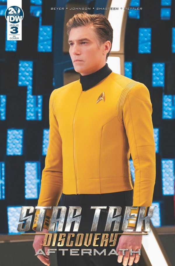 Comic Pulls from November 20, 2019 STAR TREK DISCOVERY – AFTERMATH #3 110 PHOTO INCENTIVE VARIANT