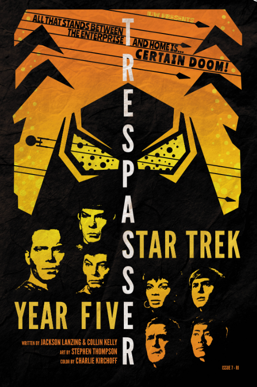 Comic Pulls from October 30, 2019 STAR TREK YEAR FIVE #7 110 INCENTIVE VARIANT