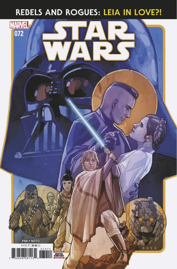 Comic Pulls from October 2, 2019 STAR WARS #72
