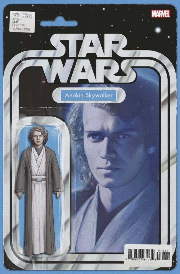 Comic Pulls from November 20, 2019 STAR WARS #75 JOHN TYLER CHRISTOPHER ACTION FIGURE VARIANT
