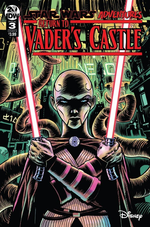 Comic Pulls from October 16, 2019 STAR WARS ADVENTURES RETURN TO VADER'S CASTLE #3 COVER B BROKENSHIRE