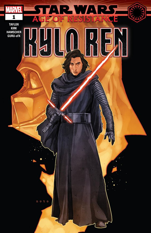 Comic Pulls from September 25, 2019 STAR WARS AGE OF RESISTANCE – KYLO REN #1