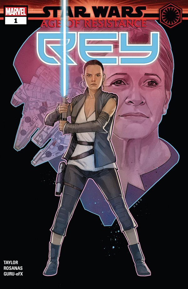 Comic Pulls from September 18, 2019 STAR WARS AGE OF RESISTANCE – REY #1