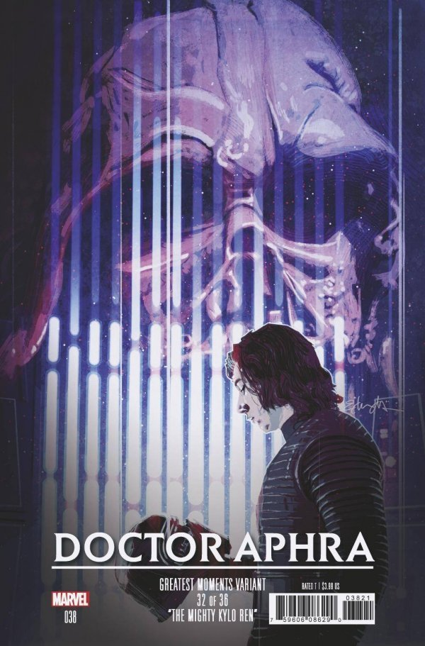 Comic Pulls from November 6, 2019 STAR WARS DOCTOR APHRA #38 TOMMY LEE EDWARDS STAR WARS GREATEST MOMENTS VARIANT