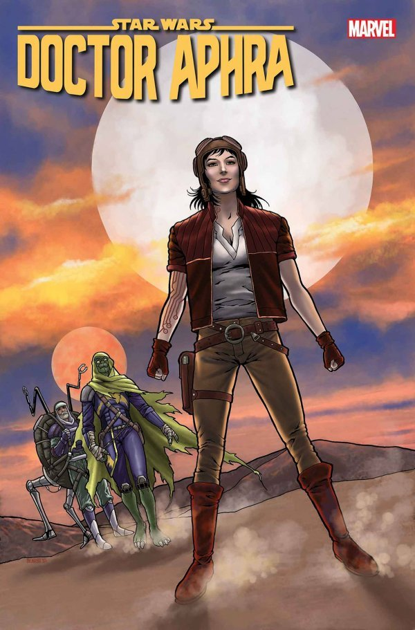 Comic Pulls from October 30, 2019 STAR WARS DOCTOR APHRA ANNUAL #3 1 in 25 COLLEEN DORAN VARIANT