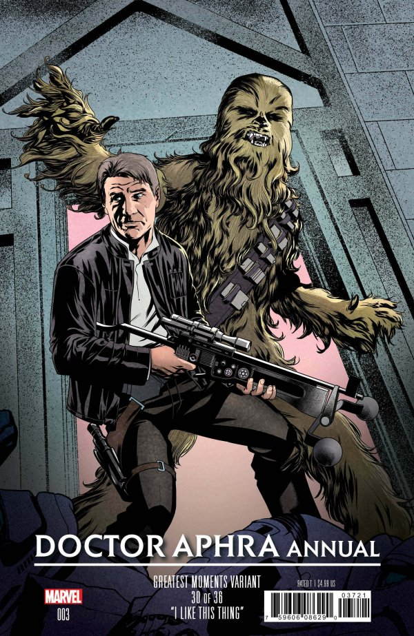 Comic Pulls from October 30, 2019 STAR WARS DOCTOR APHRA ANNUAL #3 MIKE MCKONE GREATEST MOMENTS VARIANT
