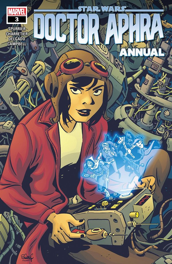Comic Pulls from October 30, 2019 STAR WARS DOCTOR APHRA ANNUAL #3