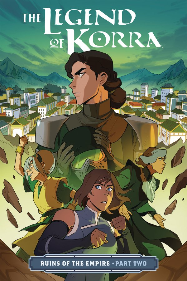 Comic Pulls from November 13, 2019 THE LEGEND OF KORRA RUINS OF THE EMPIRE PART 2 TP