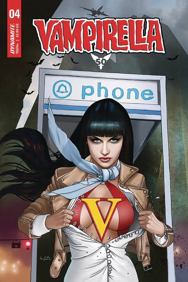 Comic Pulls from October 16, 2019 VAMPIRELLA #4 COVER D GUNDUZ