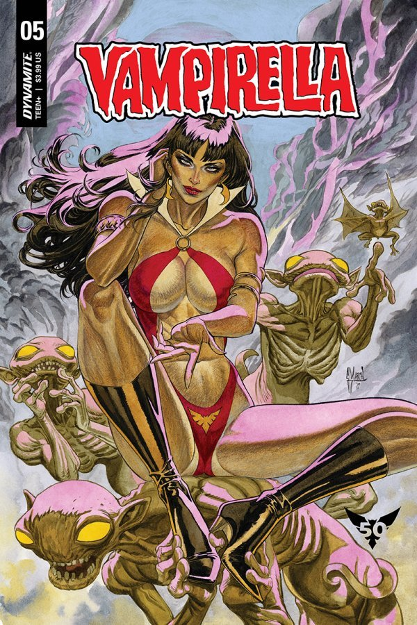 Comic Pulls from November 20, 2019 VAMPIRELLA #5 COVER B MARCH