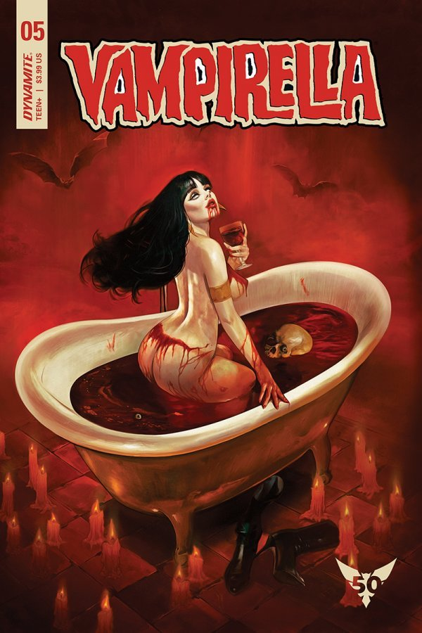 Comic Pulls from November 20, 2019 VAMPIRELLA #5 COVER C DALTON