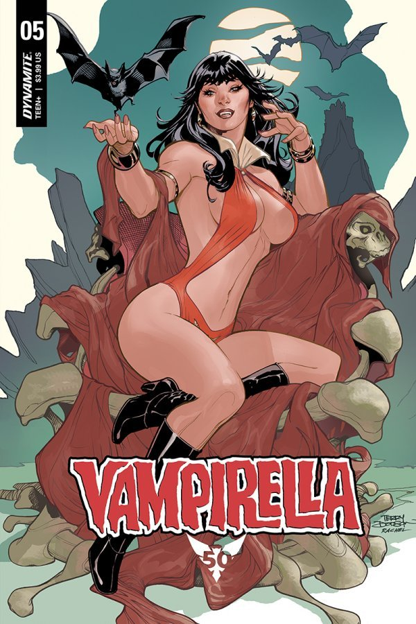 Comic Pulls from November 20, 2019 VAMPIRELLA #5