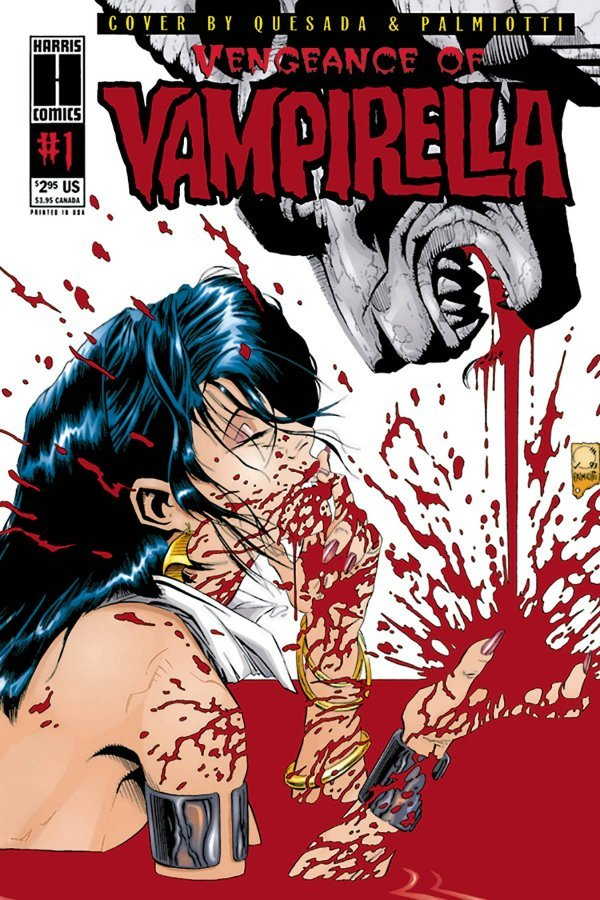 Comic Pulls from October 2, 2019 VENGEANCE OF VAMPIRELLA #1 1994 LIMITED REPLICA EDITION