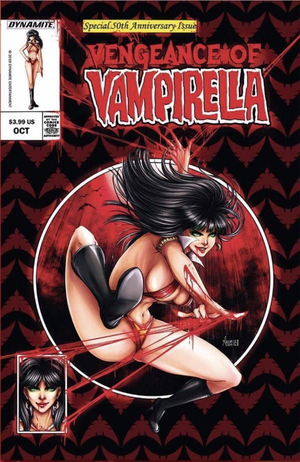Comic Pulls from October 2, 2019 VENGEANCE OF VAMPIRELLA #1 ANNA ZHUO VARIANT