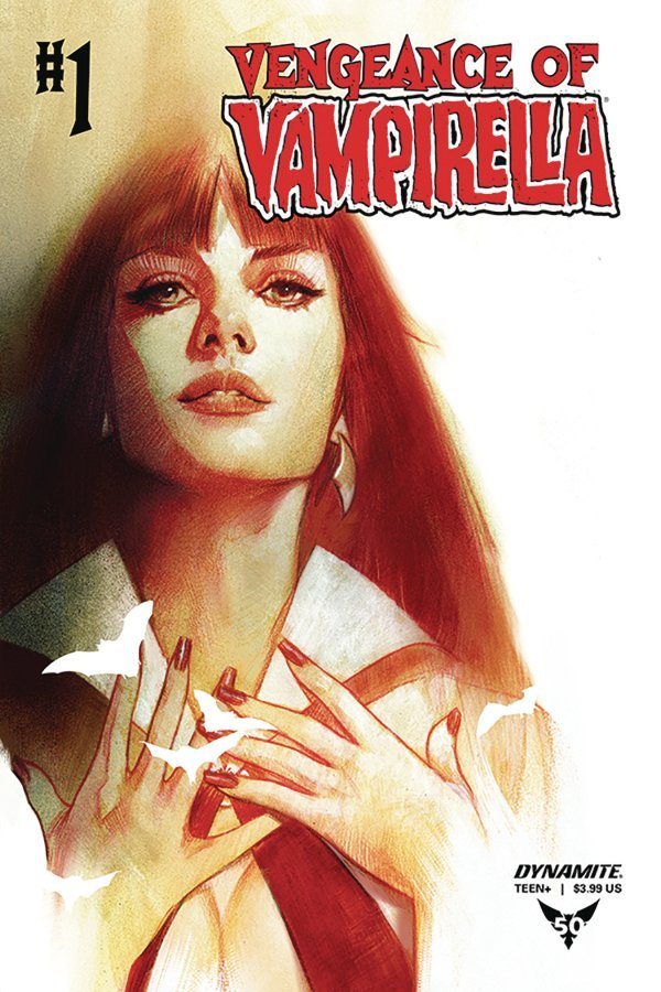 Comic Pulls from October 2, 2019 VENGEANCE OF VAMPIRELLA #1 COVER C OLIVER