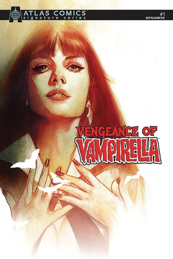 Comic Pulls from October 2, 2019 VENGEANCE OF VAMPIRELLA #1 SNIEGOSKI SGN ATLAS COVER