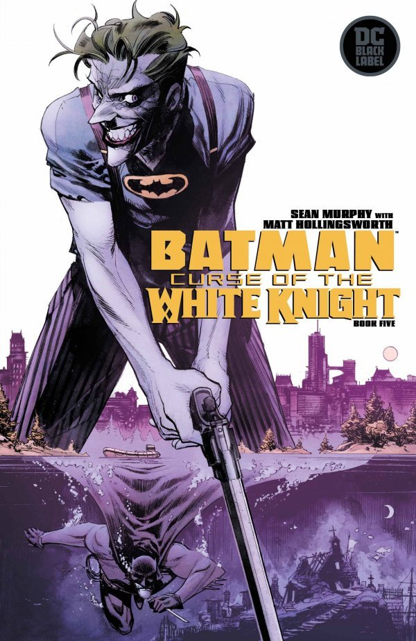 Comic Pulls for week of December 11th, 2019 BATMAN CURSE OF THE WHITE KNIGHT #5