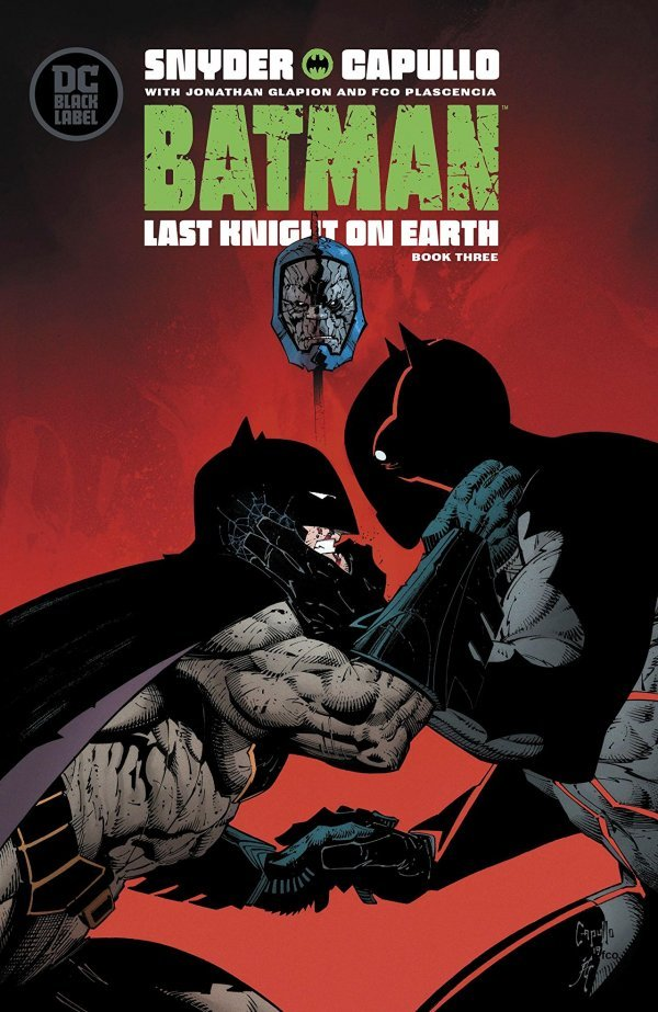 Comic Pulls for week of December 18th, 2019 BATMAN LAST KNIGHT ON EARTH #3