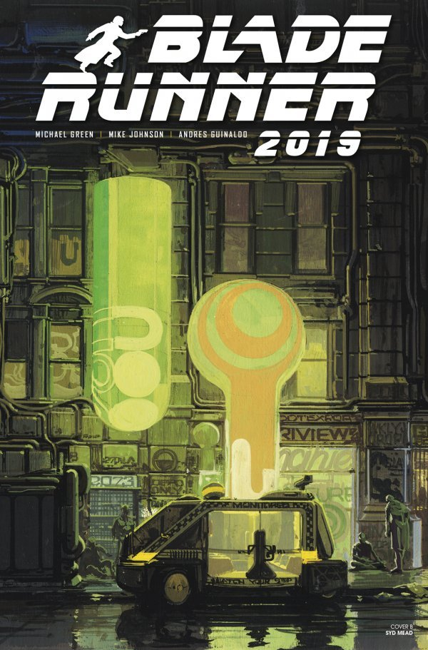 Comic Pulls for week of December 18th, 2019 BLADE RUNNER 2019 #5 COVER B MEAD