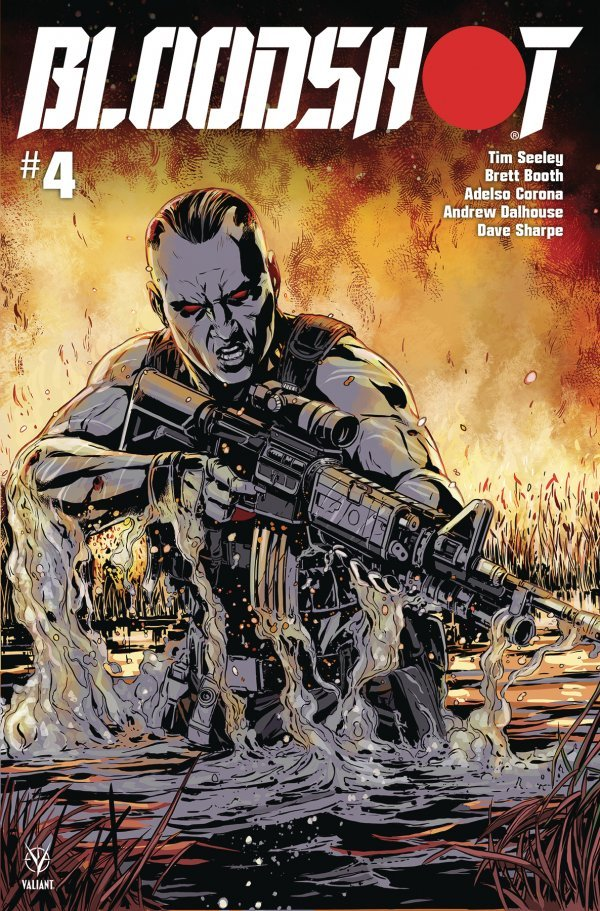 Comic Pulls for week of December 18th, 2019 BLOODSHOT #4 COVER C LAMING
