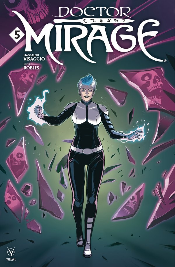 Comic Pulls for week of December 11th, 2019 DOCTOR MIRAGE #5 COVER B WIJNGAARD