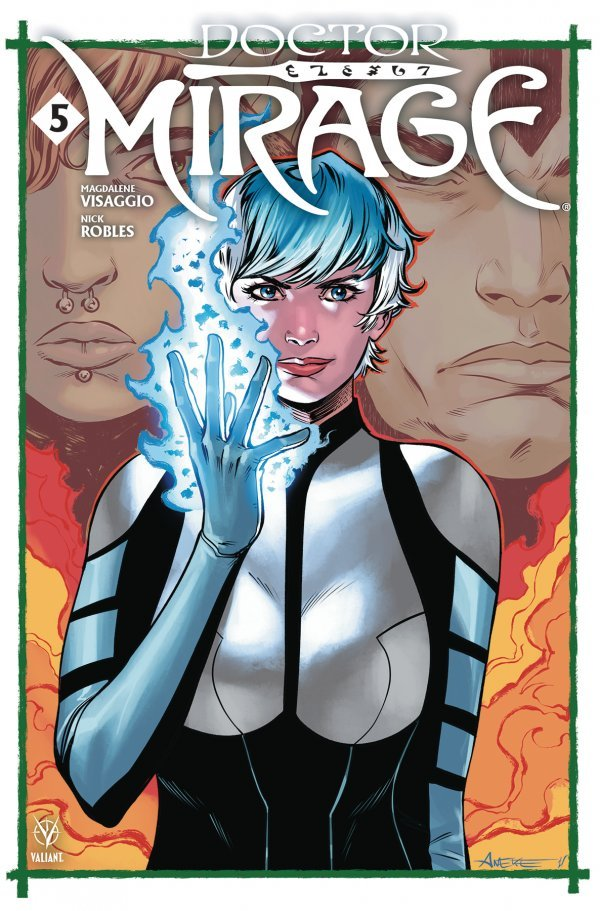 Comic Pulls for week of December 11th, 2019 DOCTOR MIRAGE #5 COVER C ANEKE