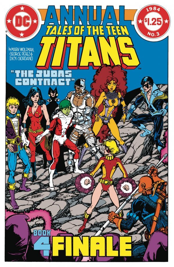 Comic Pulls for week of December 11th, 2019 DOLLAR COMICS TALES OF THE TEEN TITANS #3