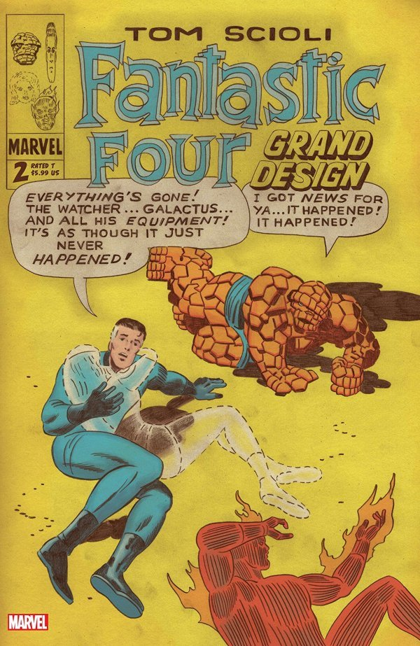 Comic Pulls from November 27, 2019 FANTASTIC FOUR GRAND DESIGN #2